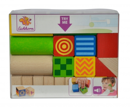eichhorn Eichhorn Baby Feel and Sound Blocks