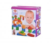 eichhorn Eichhorn Coloured Wooden Blocks Baby