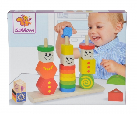 Eichhorn Stacking Puzzle Figures