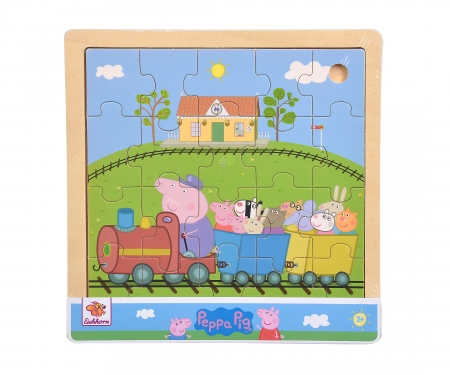 eichhorn Peppa Pig, Lift Out Puzzle, 3-ass.