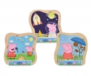 eichhorn Peppa Pig Pin Puzzle, 3-ass.