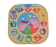 eichhorn Peppa Pig, Teaching Clock