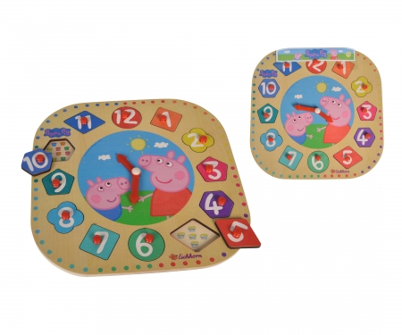 eichhorn Peppa Pig, Teaching Clock