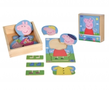 eichhorn Peppa Pig Dress Up Puzzle