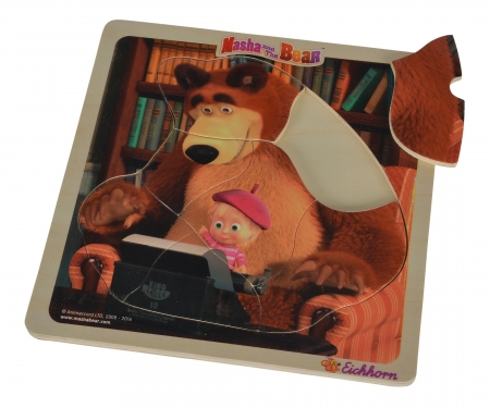 Masha and the Bear Lift Out Puzzle