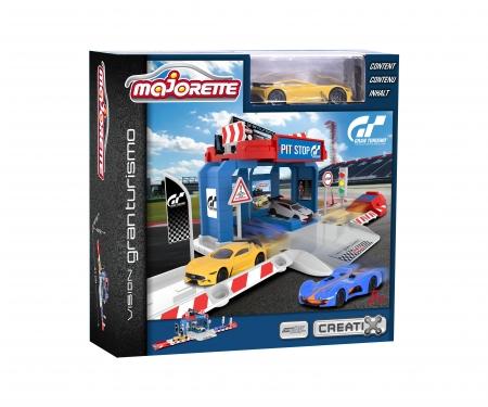 Vision Gran Turismo Pit Stop + 1 car