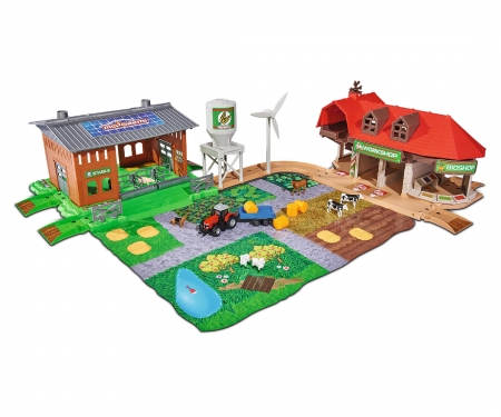 majorette Creatix Big Farm + 5 vehicles