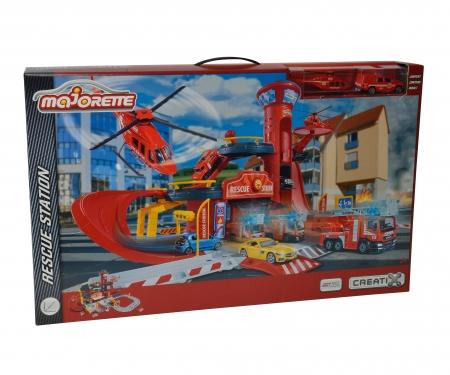 Creatix Rescue Station + 2 Vehicules