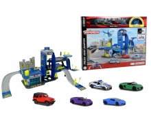 majorette Creatix Police Playset+5 vehicles