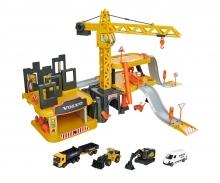 majorette Creatix Construction Spielset + 5 Volvo Baufahrzeuge