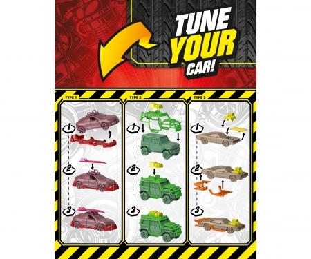 majorette Tune Ups - 1 von 18 Autos, 7 Überraschungen, inkl. Tuning-Zubehör, Lieferung 1 Stück