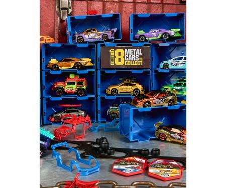 majorette Tune Ups 4er Set mit 28 Überraschungen, 4 von 18 Autos zum Tunen im Überraschungspack