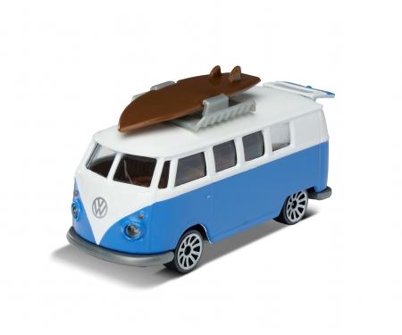 majorette VW T1 with surfboard