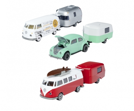 Vintage Trailer Assortment, 3-sort.
