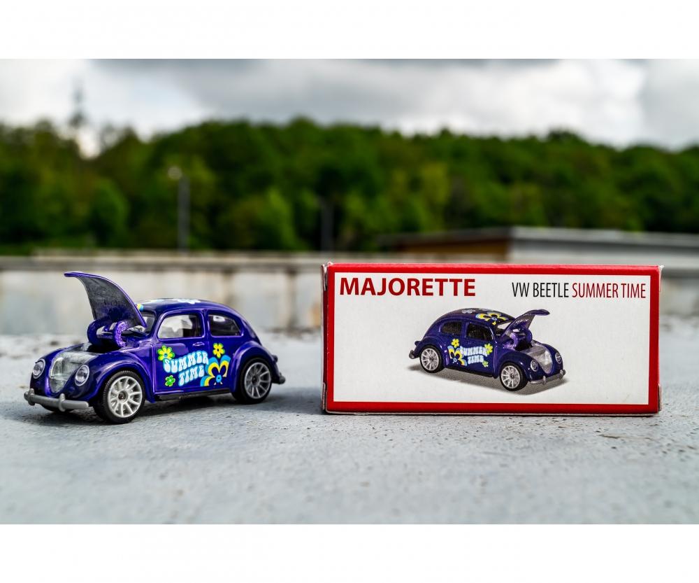 Volkswagen Beetle Racing Majorette Diecast Vintage Deluxe Car
