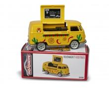 majorette VW T1 Mexcian Foodtruck + Collectors box