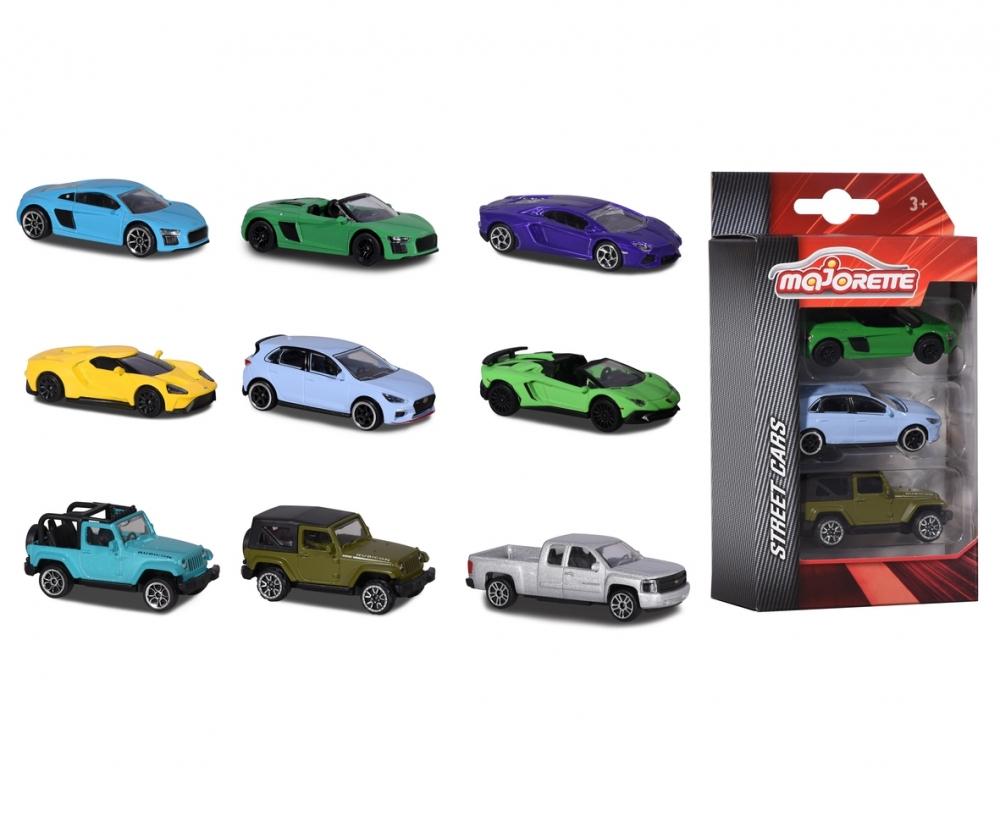 3 Pieces Set Sets Street Cars Premium Cars Brands Products