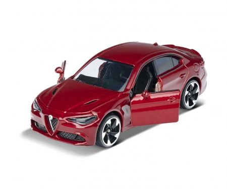 majorette Alfa Romeo Giulia + Sammelkarte