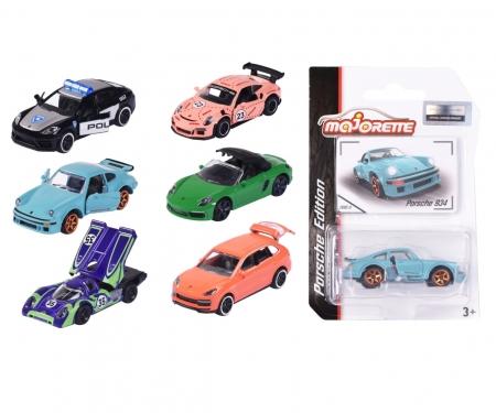 majorette Porsche Premium Cars, 6-asst.