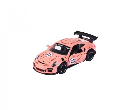 "majorette Porsche 911 GT3 RS ""Sau"" + Sammelkarte"