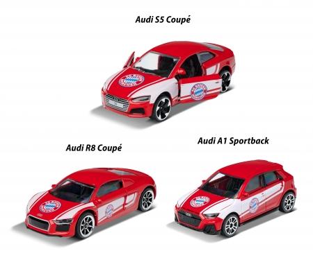 majorette FC Bayern Premium Cars,  6-asst.