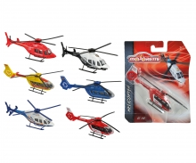 majorette Majorette Helikoptery, 6 rodz