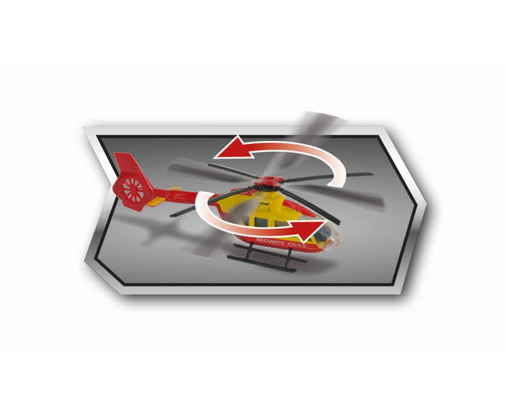 MAJORETTE SPECIAL EDITION DUBAI RESCUE HELICOPTER AIRBUS H145