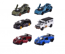 Deluxe Cars Assortment, 6-sort.