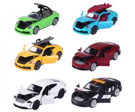 majorette Porsche Deluxe Cars, 6-asst.