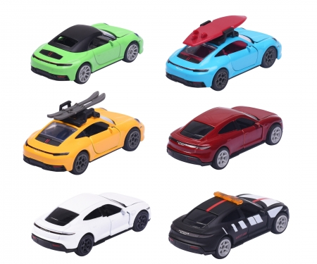 majorette Deluxe Porsche 911 Carrera S + Collectors box, 1 Piece