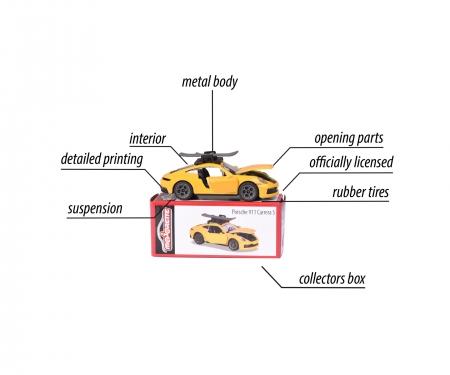 majorette Porsche Deluxe Car, 1 piece