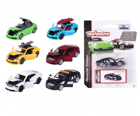 majorette Porsche Deluxe Car, 1 pièce