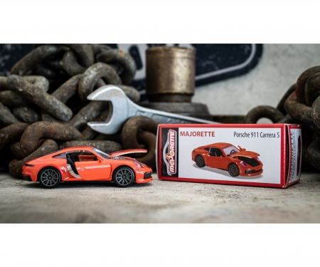 majorette Deluxe Porsche 911 Carrera S -  Orange