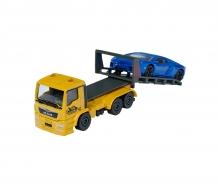 majorette MAN TGS Tow Truck with Lamborghini Aventador
