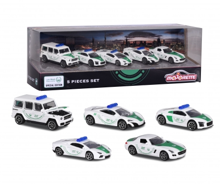 majorette Dubai Police 5 Pieces Giftpack