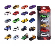 majorette Street Cars 5 Pieces Set, 4-asst.