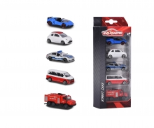 Set 5 Coches escala 1:64
