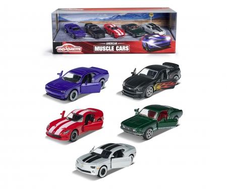 majorette Muscle Cars 5er Geschenkset