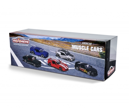 majorette Gift Pack 5 coches Muscle