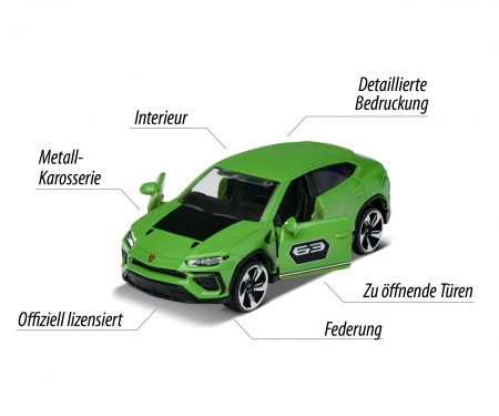 majorette Gift Pack 5 coches 4x4 SUV