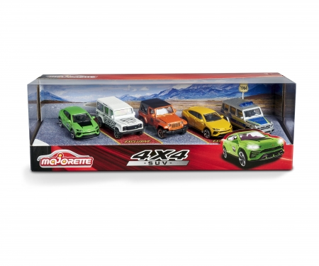 majorette SUV 5 pieces Giftpack