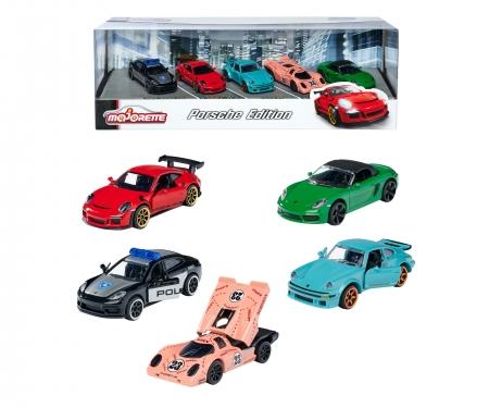 majorette Porsche 5er Geschenkset