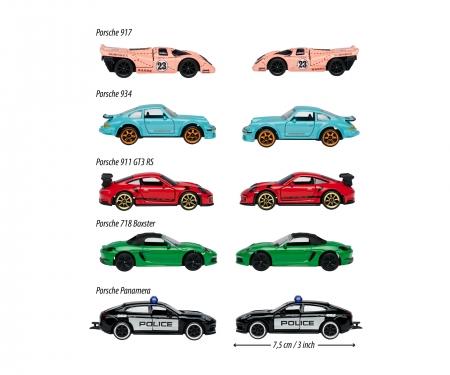majorette Porsche 5 Pieces Giftpack