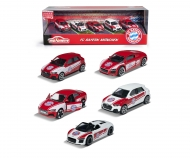 majorette FC Bayern Munich 5 pieces Giftpack incl. sticker sheet