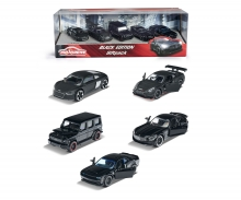 majorette Black Edition 5 Pieces Giftpack