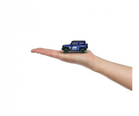 majorette Suzuki Jimny - Giftpack con 5 coches