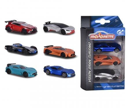 Vision Gran Turismo 3 pieces Set,2-asst.