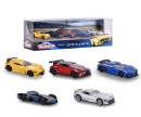 majorette Gran Turismo Giftpack 5 Pièces