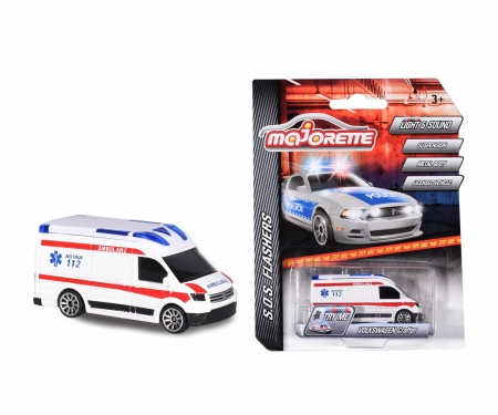 majorette S.O.S Flashers VW Crafter Ambulance