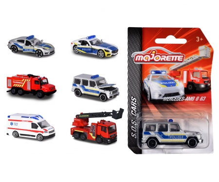 majorette S.O.S. Vehicles, 6-asst.